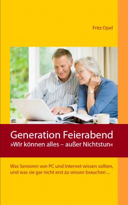 Titelseite des Buches 'Generation Feierabend'